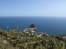 Ischia. A beautiful island in campania italy Stock Photo