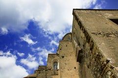 ISCHIA - Aragonese slott Royaltyfri Bild