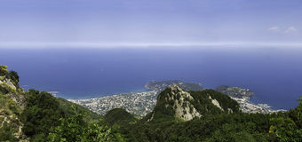 Ischia, the bay Royalty Free Stock Photos