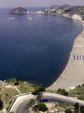 Ischia, beach Maronti Royalty Free Stock Photography