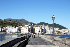 Ischia bridge Royalty Free Stock Photo