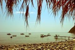 Ischia Campania, Italien Arkivfoto