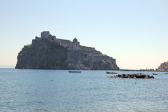 Ischia castle Royalty Free Stock Images