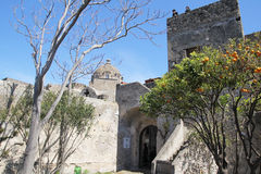 In ischia castle Stock Photo