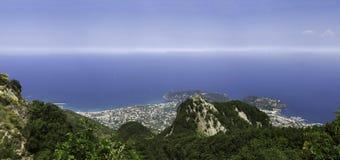 Ischia, de baai Royalty-vrije Stock Foto's