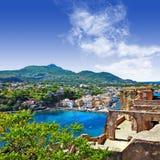 Ischia eiland royalty-vrije stock foto's