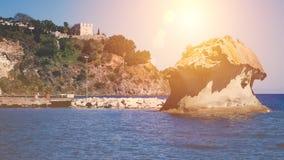 Ischia, the fungus of Lacco Ameno. Italy Royalty Free Stock Image