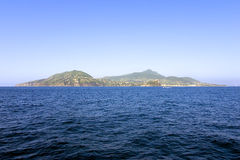 Ischia Island. A sea view of wonderful Ischia island Stock Photography