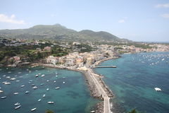 Ischia island Royalty Free Stock Photos