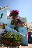 Ischia, island in the mediterranean sea. Near naples royalty free stock photos