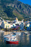 ISCHIA, ITALY - OCTOBER, 18: View of Forio, October 18, 2012 Royalty Free Stock Image