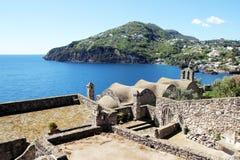 Ischia kunst en aard Royalty-vrije Stock Fotografie