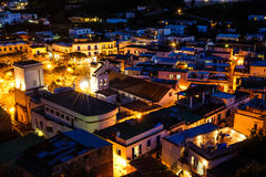 Ischia nights Royalty Free Stock Images