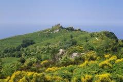 Ischia, pietradell'acqua Royalty-vrije Stock Afbeelding