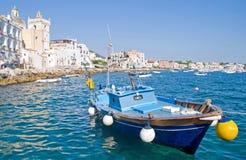 Ischia Ponte, Ischia, Włochy Obrazy Royalty Free