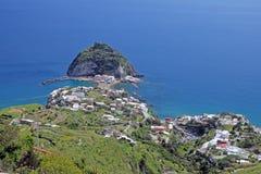 Ischia postcard Royalty Free Stock Photo