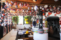 Ischia pots Stock Images