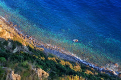 Ischia scenic coastline Stock Photo