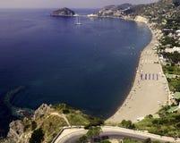 Ischia, strand Maronti Royalty-vrije Stock Foto's