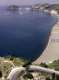 Ischia, strand Maronti Royalty-vrije Stock Fotografie