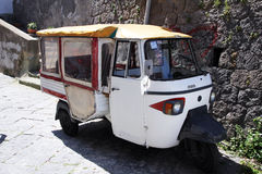 Ischia taxi Royalty Free Stock Photography