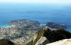 A ischia view Royalty Free Stock Image