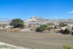Ischigualasto desert valley Royalty Free Stock Photos
