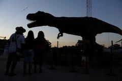 ischigualasto för buenosdinosaursutställning fotografering för bildbyråer