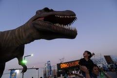ischigualasto för buenosdinosaursutställning arkivbild