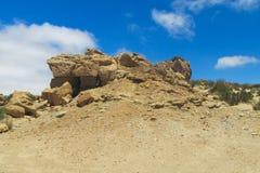 Ischigualasto gray desert landscape Royalty Free Stock Image