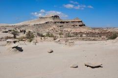 Ischigualasto rock formations in Valle de la Luna, Argentina Royalty Free Stock Images
