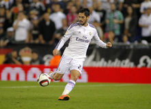 ISCO Alarcon do Real Madrid Foto de Stock Royalty Free
