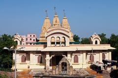 Iscon寺庙-印度 库存图片