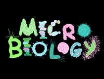 Iscrizione biologica dei batteri royalty illustrazione gratis