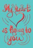 Iscrizione, collage, pantone 2019, illustrazione, colore, corallo, cartolina, manifesto, San Valentino, il 14 febbraio, amore illustrazione vettoriale