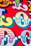 Iscrizione Colourful di graffitti illustrazione di stock