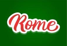 Iscrizione della mano di Roma Fotografia Stock Libera da Diritti