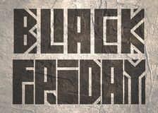 Iscrizione di Black Friday Immagini Stock Libere da Diritti