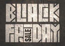 Iscrizione di Black Friday Immagine Stock