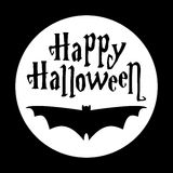Iscrizione di Halloween Immagini Stock Libere da Diritti