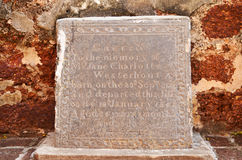 Iscrizione di pietra antica fotografia stock