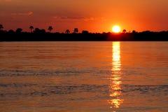 Iscrizione di tramonto Immagini Stock