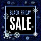 Iscrizione di vendita di Black Friday Illustrazione di Stock