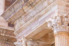 Iscrizione greca alla palestra in Sardis Fotografia Stock Libera da Diritti
