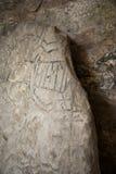 Iscrizioni antiche Immagine Stock