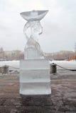 Isdiagramet som visas i Muzeon skulptur, parkerar i Moskva Royaltyfri Fotografi