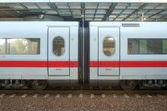 ISdrev på Berlin Station Arkivfoto