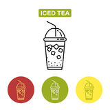Ise herbaty ikona Obraz Royalty Free