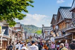 Ise Japan Traditional Street Imagen de archivo libre de regalías