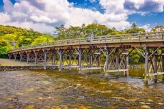 Ise Jingu Bridge fotografia de stock